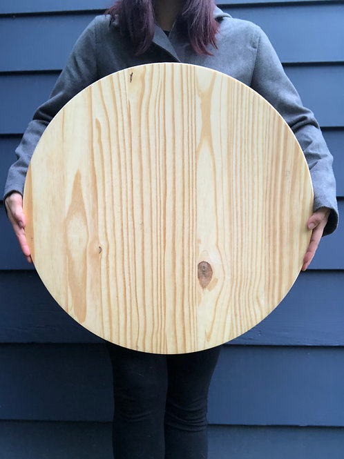 "22"" Solid Wood Round- Choose Your Color"