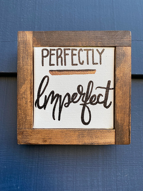 "4"" x 4""- Mini Perfectly Imperfect Copper"