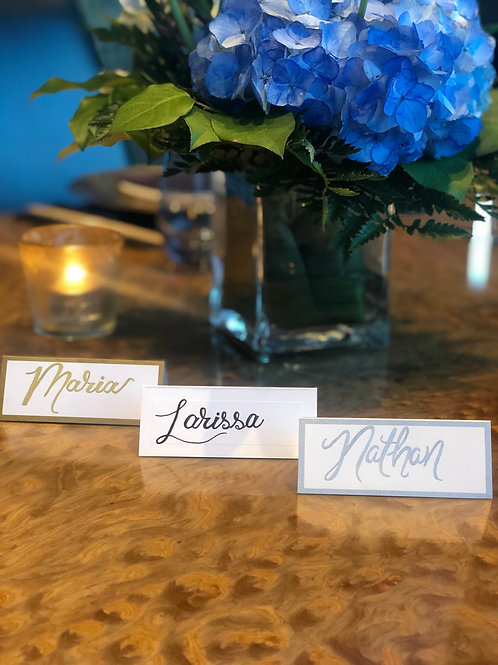 Paper Name Place Cards