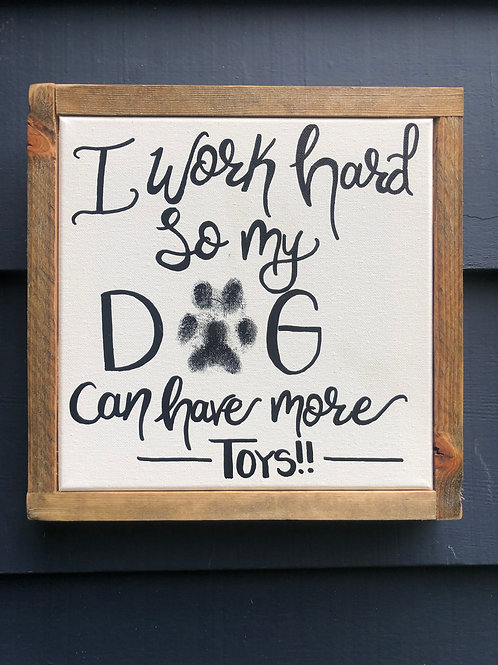 *PET PAW PRINT* FOR ANY CUSTOM SIGN