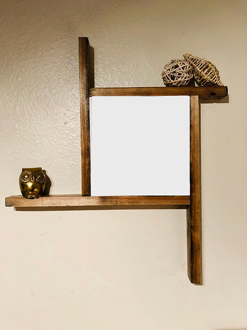 """6"""" x  6"""" Funky Framed Solid Wood"""