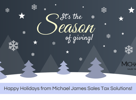 Merry Christmas & Happy Holidays from Michael James!