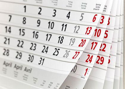 Calendário e Vacinas