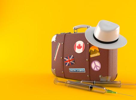 Viagem de férias e as vacinas recomendadas e obrigatórias