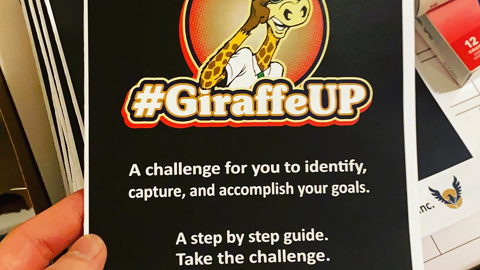 The Blueprint & GiraffeUP Challenge Kit (PDF Download) - Digital Product -