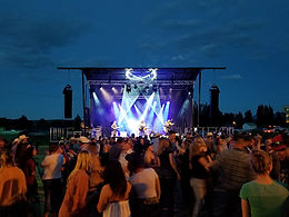 Live Outdoor Concert Lighting