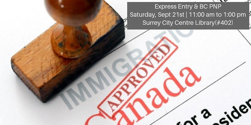 Express Entry & BCPNP (Surrey)
