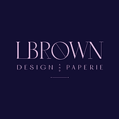 LBrown Design and Paperie logo.png