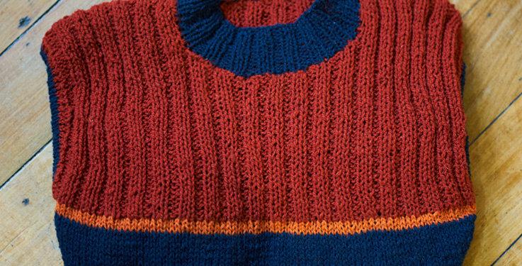 Suéter Tricolor