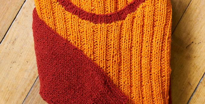 Suéter Bicolor
