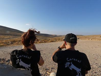 אמנות לחימה ומדיטציה במדבר