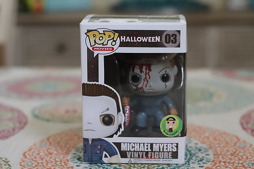 Bloody Michael Myers Custom Funko Pop with Wig