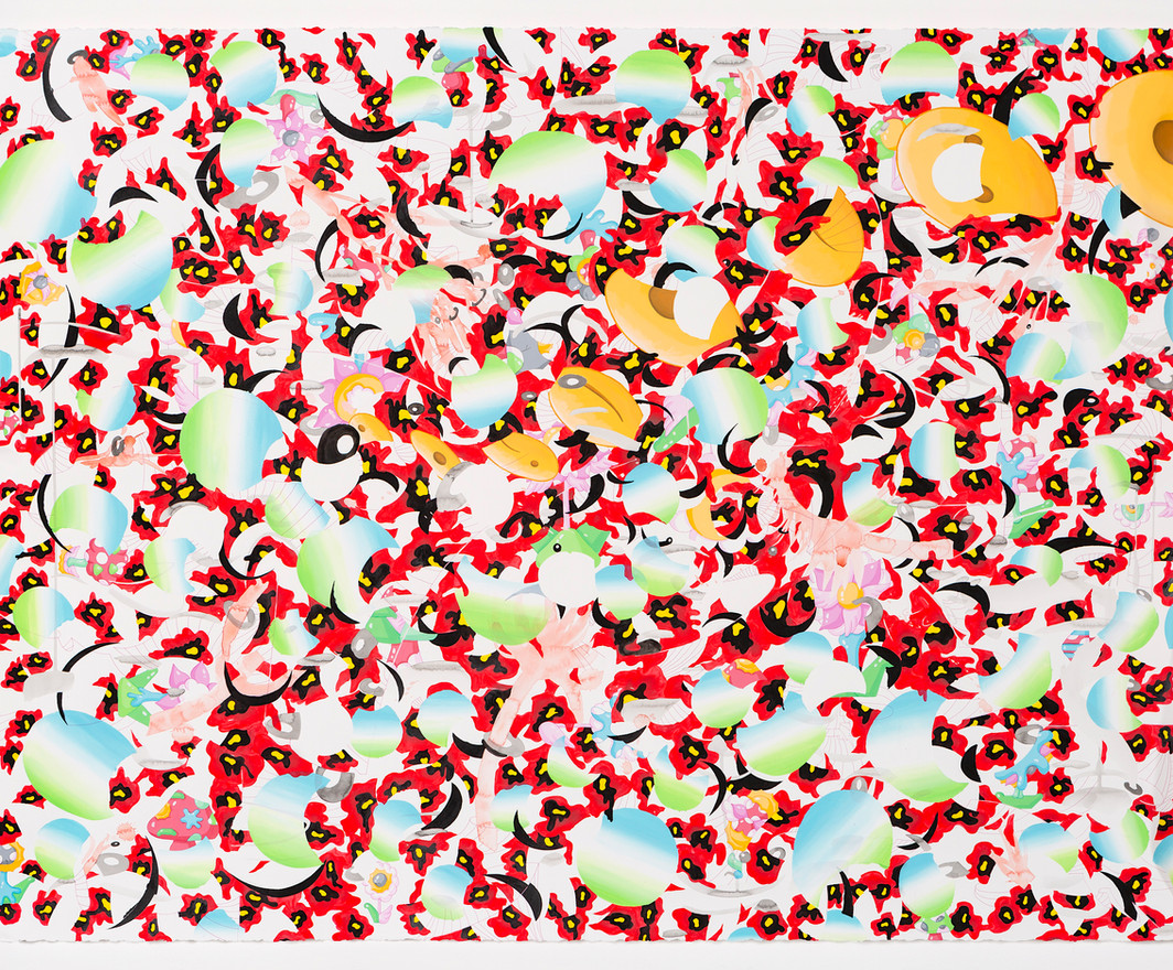 Landscape:Opium Poppy#1
