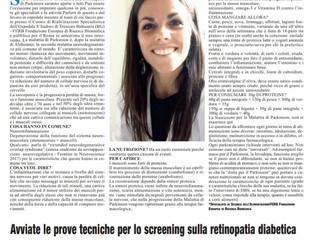 Giornata Parkinson su Roma Conache Lucane