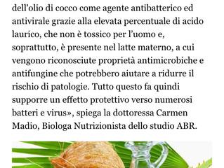 FASHION FOOD:olio di cocco