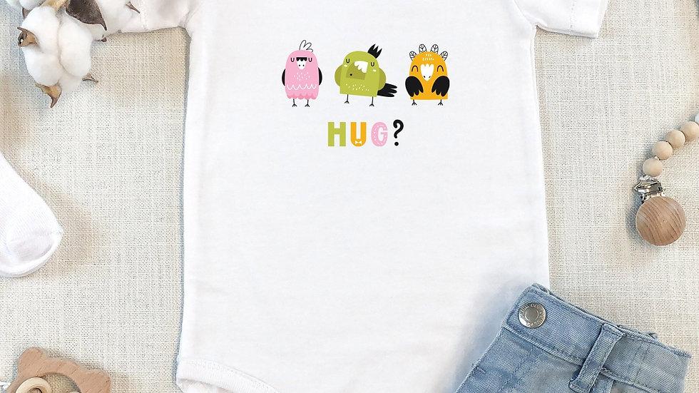 Parrot's Hug Organic Cotton Short Sleeve Baby Bodysuit