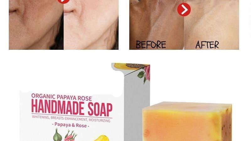 Handmade Organic Soap Body Face Cleanser - 50% OFF Today