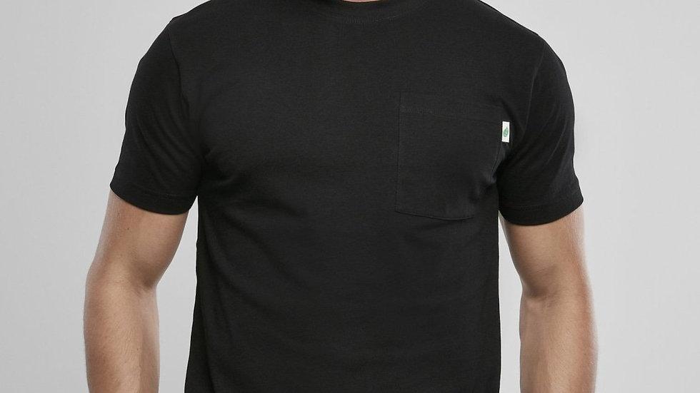 Organic Cotton Basic Pocket T-Shirt 2-Pack (S-5XL) Black + White