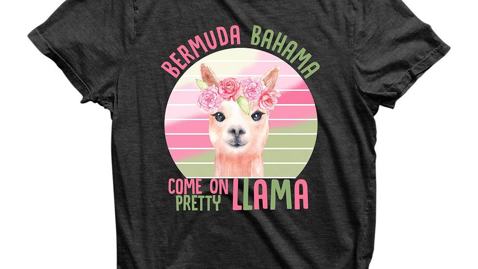 Eco Friendly Recycled Bermuda Bahama Unisex T-Shirt