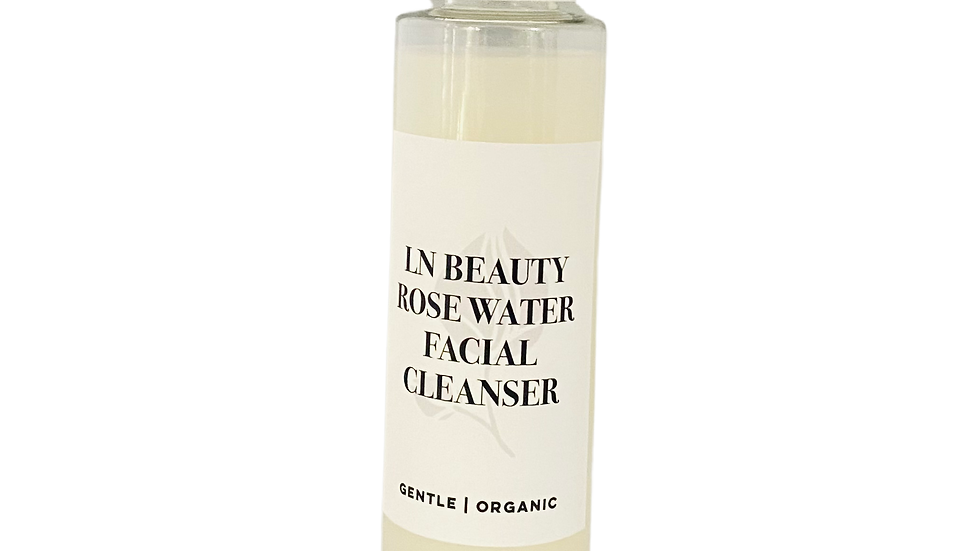 Organic Rose Water Face Cleanser