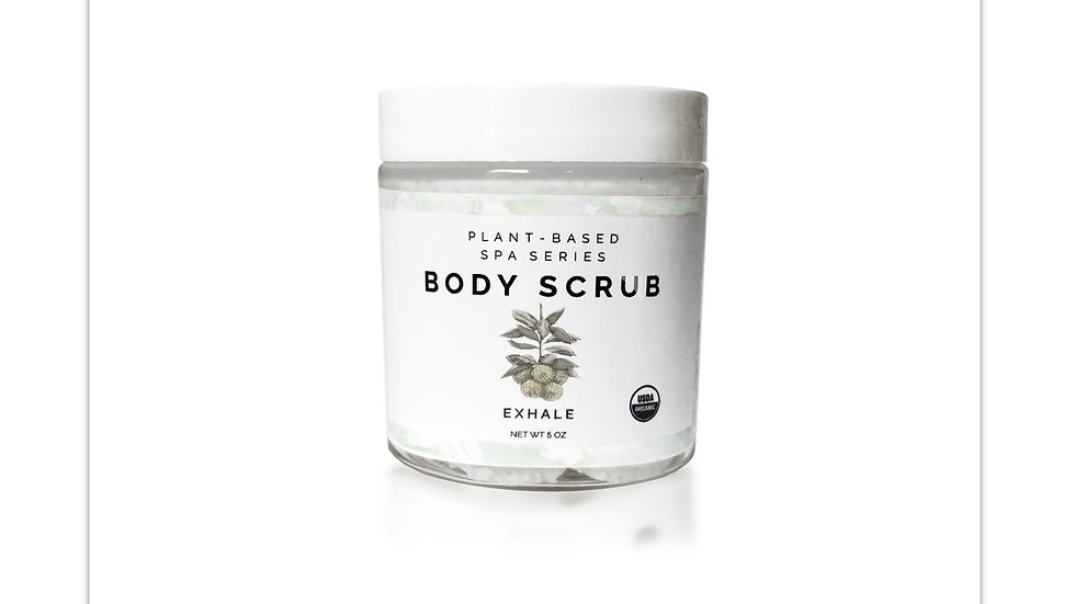 Organic Body Scrub   Exhale