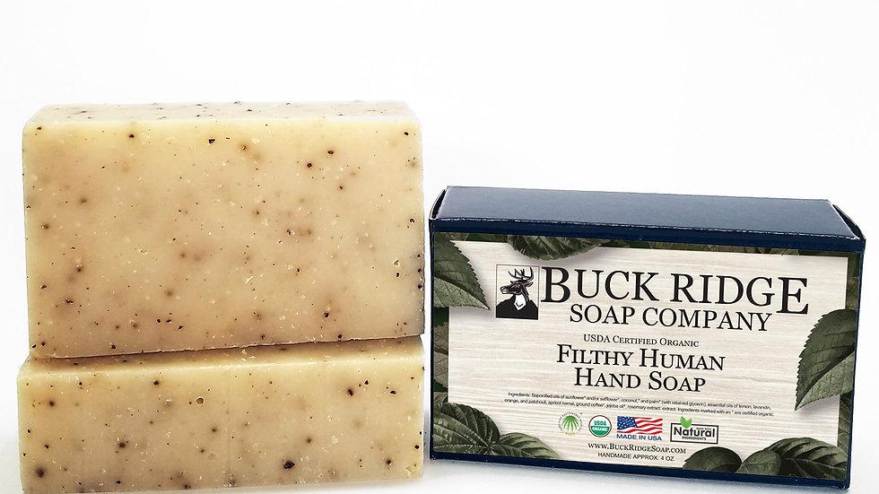 Filthy Human Handmade Soap - USDA Certified Organic