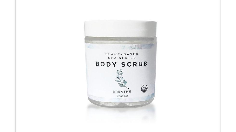 Organic Body Scrub | Breathe