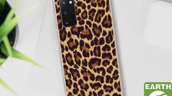 Eco Friendly Biodegradable Phone Case Leopard Print