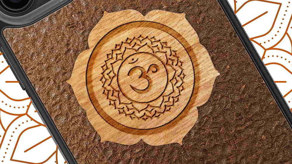 Chakra Yoga Symbols - Crown Chakra - Coffee