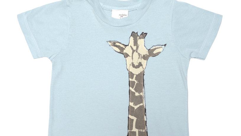 Organic cotton tee- Giraffe print