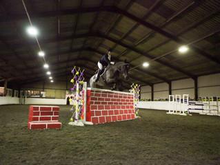 Friday night alright for Jumping! 15th January BSJA