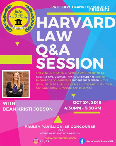 Q&A Session with Dean of Harvard Law, Kristi Jobson