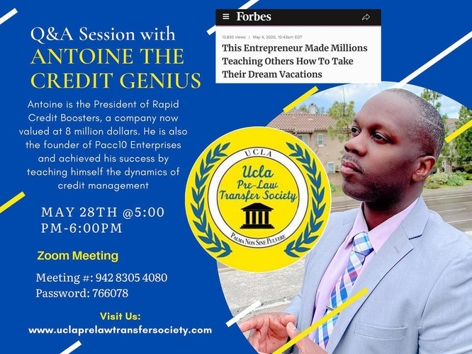 Industry LeaderQ&A – Antoine The Credit Genius