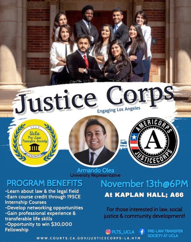Justice Corps: Engaging Los Angeles with Amermando Olea
