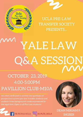 Q&A Session with Dean of Yale Law, Miriam Ingber