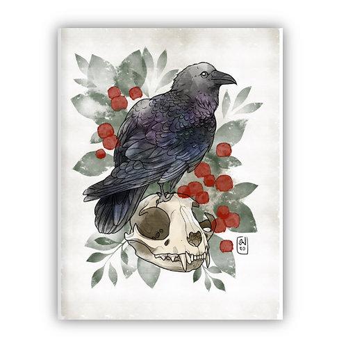 Raven Print - by Saga