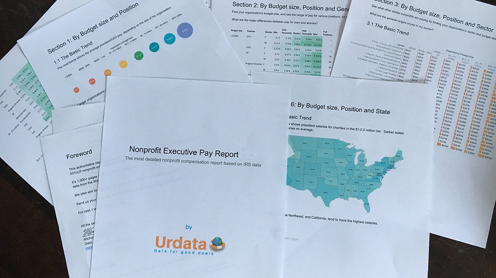 2020 Nonprofit Executive Compensation - Full Report