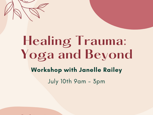 Trauma Informed Workshop You Won't Want to Miss!