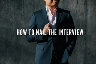How To Nail The Interview