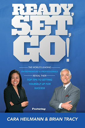 CARA HEILMANN,  EXECUTIVE AND SENIOR LEVEL CAREER COACHING, READY RESET GO BOOK