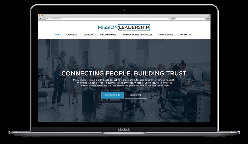 Nonprofit Website Design, Eastcamp Creative, Recruiter Firm Website Design andDevelopment