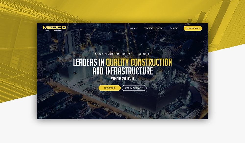 Medco Builds | Pittsburgh, PA | New Website Construction