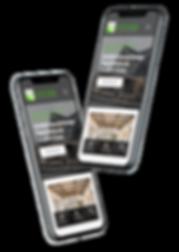 mobile website design for architectural firm, Entasis