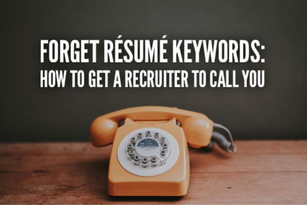 Get A Recruiter To Call You