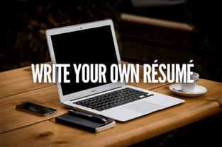 Write Your Own Résumé
