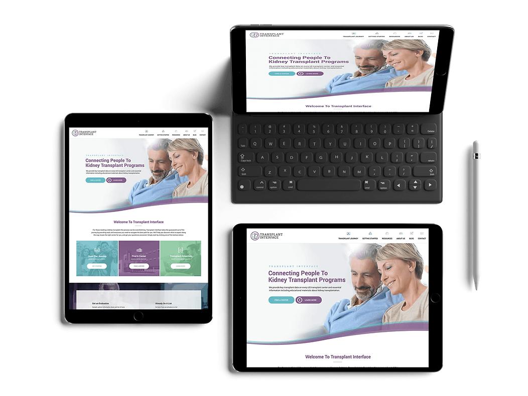 Tablet Web Design