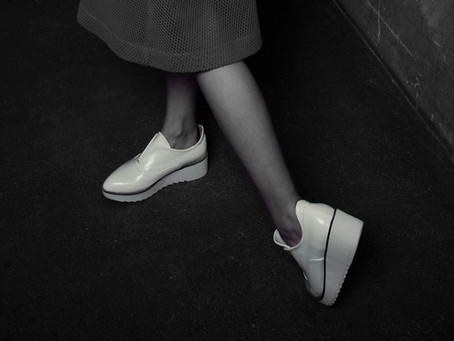 Sapatos na mala
