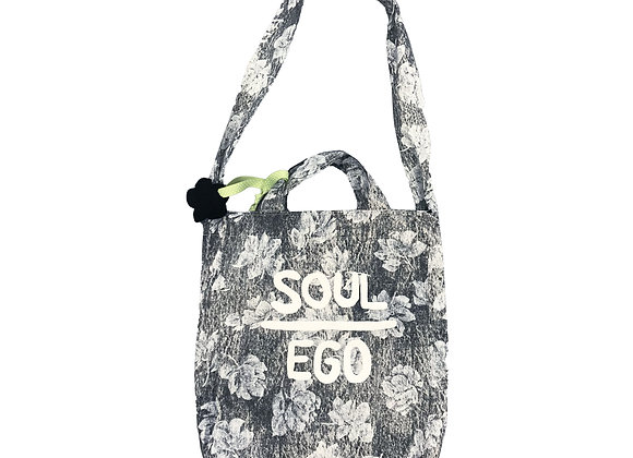 SOE WASHED FLOWER TOTE