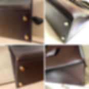 Réparation d'un sac Hermès en Epsom