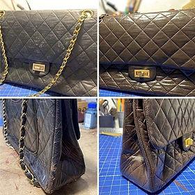 Réparation d'un sac à main de luxe Chanel